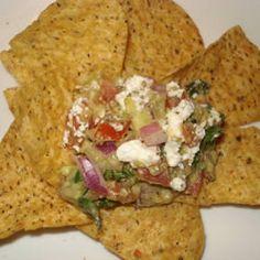 Avocado Feta Salsa, Yumtastic!