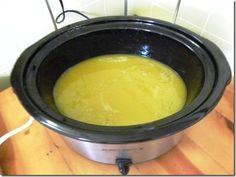 Living From Scratch: Crock Pot Hot Process Soap – LOTS of pics!