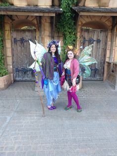 Two of the Westwood Fairies at the TRF 2013