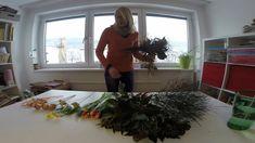 Wir machen einen Valentinsstrauss / Blumenwerkstätte Flowers