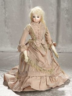 """17"""" French bisque poupee ... Auctions Online 