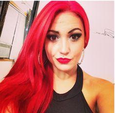 All red everything. Haircolor at Kevay salon