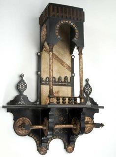 CARLO BUGATTI Aesthetic movement etagere