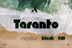 Taranto, a font by antitype on @creativemarket Futuristic Fonts, It Works, Movie Posters, Film Poster, Popcorn Posters, Film Posters, Nailed It, Poster