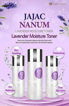 Jajac Nanum Lavender Moisture Toner/Korean Moisturizer/Brightening/Soothing Skin Toner, Anti Aging, Moisturizer, Lavender, Korean, Products, Moisturiser, Korean Language, Gadget
