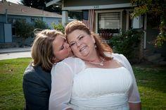 #hughesx2s  BJ and  Shawn's wedding in Orange California.  What fun people!