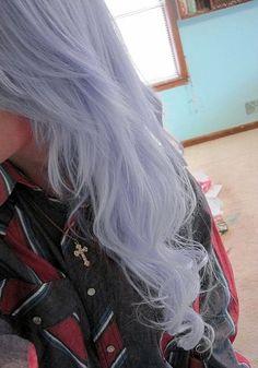 subtle pale hair