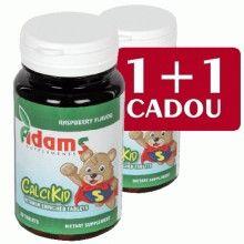 CalciKid, 30cps masticabile 1+1 Gratis