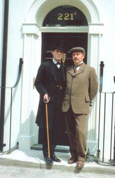 Holmes and Watson - Jeremy Brett and David Burke
