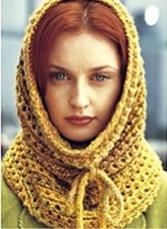 Eyelet Cowl:  saw it in a book and it looked much cuter.
