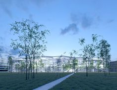 巴黎-萨克雷大学内巴黎综合理工学校新学习中心设计 http://www.gooood.hk/learning-center-paris-saclay.htm