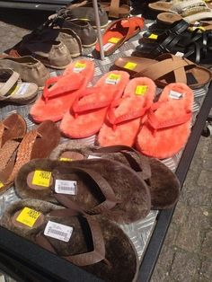 You have an inordinate number of strange flip flops. | Community Post: 24 Signs You Prefer Comfort Over Style