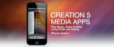 """YES! It's finally here! The luxury """"must have"""" music app is now available for the iPhone! Creation 5 has been making waves in the audio visual world with it's iPad app, which was originally designed for the BeoSound 5 (first released in July 2012)."""
