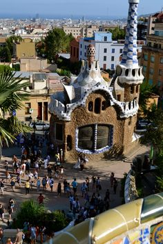 Gaudi -  Parc Guell in Barcelona
