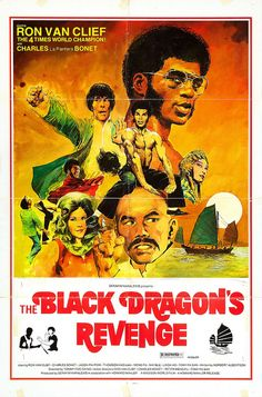 The Black Dragon Revenges the Death of Bruce Lee, 1975 Black Tv Shows, Old Tv Shows, Vintage Movies, Vintage Posters, Vintage Ads, Vintage Black, Old School Movies, Hong Kong Movie, Kung Fu Movies