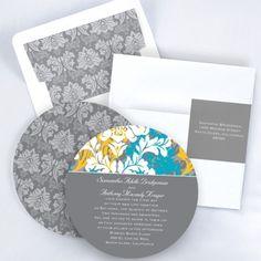 Beautiful Colors - Invitation - Pewter