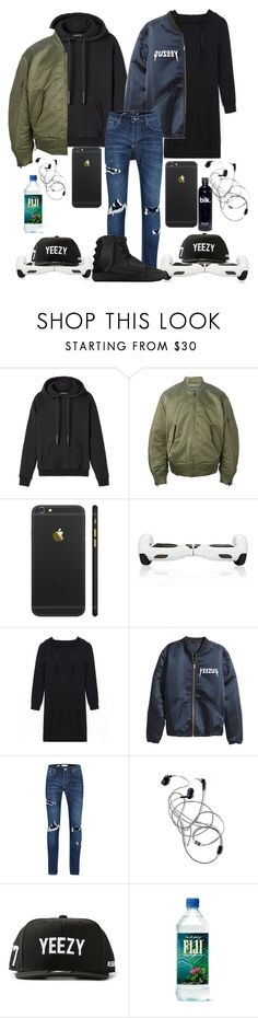 """""""Girl Yeezy outfits"""" by amcclay ❤ liked on Polyvore featuring adidas Originals, Topman and LES (ART)ISTS"""