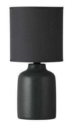 IDA Rabalux - stolná lampa- antracit keramika+textil - 305mm