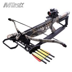 Mtech USA 175LB Recurve Crossbow Red Dot Scope Integrated Quiver MC-DX21GODC