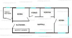 Fénykép az ingatlanról Budapest, Floor Plans, Diagram, Floor Plan Drawing, House Floor Plans