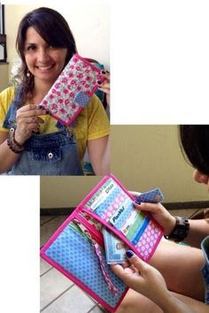 sewing tutorial for clutch ♥