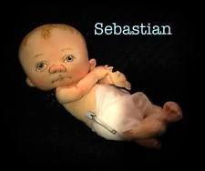 Jan Shackelford OOAK Newborn Preemie Baby