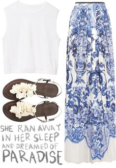 """Paradise"" by sophi-sticated ❤ liked on Polyvore"
