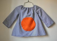 PDF pattern Magic pocket blouse  12m up to 4T  Easy by ManiMina, $5.50
