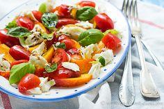 Kochen mit Diana/ Cooking with Diana: Nektarinen Caprese Salat/ Nectarines…
