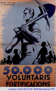 Spain - 1938. - GC - poster - autor: Lorenzo Goni