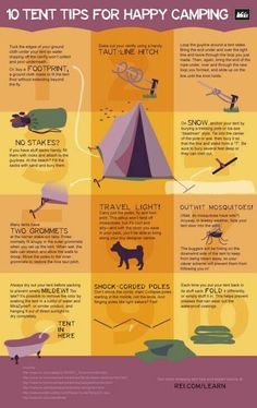 CAMPING TIPS: 10 Tent Tips for Happy Camping