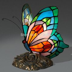 Popular Stained Glass Animal Lamps from China best-selling Stained ...