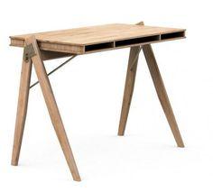 We Do Wood Field Skrivebord - Bambus - Fleksibelt hjemmeskrivebord
