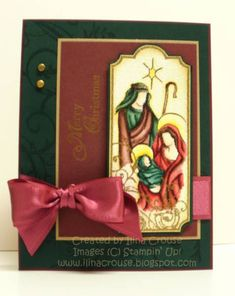 Holy Triptych Again by ilinacrouse - Cards and Paper Crafts at Splitcoaststampers