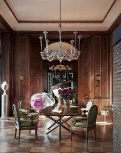 Appartement Paris, décorateur Yves Gastou © Vincent Leroux