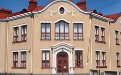 Palosaaren koulu Vaasa. Finland, Denmark, Norway, Sweden, Sweet Home, Mansions, House Styles, Home Decor, Decoration Home