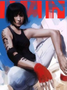Faith Mirrors Edge by ~AnnaPredator on deviantART