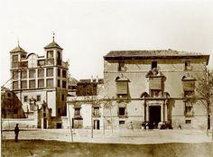 Palacio marques de los velez DESTRUIDO c. 1931 para consrucción la gran vía de Alfonso X el sabio.