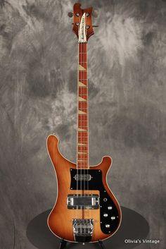 1978 Rickenbacker 4001 Bass in Autumnglo