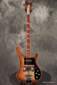 1978 Rickenbacker 4001 Bass in Autumnglo