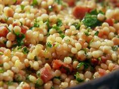 Chorizo and Preserved Lemon Couscous Recipe : Chuck Hughes : Recipes : Cooking Channel Couscous Recipes, Balsamic Vinaigrette Recipe, Preserved Lemons, Side Recipes, Chef Recipes, Recipies, Grilled Vegetables, Veggies, Rezepte
