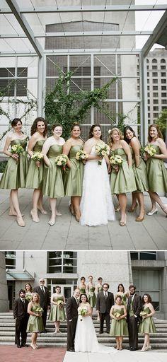 #nashvillewedding, green bridesmaid dresses, budget savvy wedding, fresh by carry ann, @Jenna Henderson, www.ashleysbriguide.com