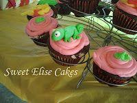 Sweet Elise cakes: Rapunzel cupcakes