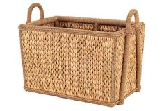 One Kings Lane - Storage Solutions - Provence Rush Country Basket