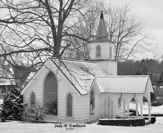 Winter 2012 Church at Storybook Gardens London Ontario
