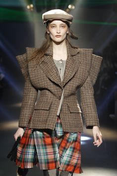 vivienne westwood and the tartan...