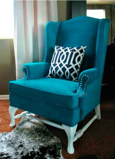 DIY upholstery painting.