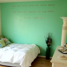 Beach themed room