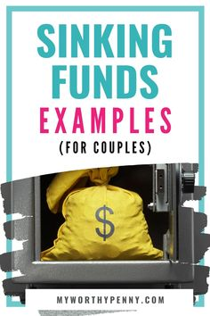 Sinking Funds Example For Couples - My Worthy Penny Money Tips, Money Saving Tips, Managing Money, Budgeting Finances, Budgeting Tips, Sinking Funds, Money Saving Challenge, Budgeting Worksheets, Frugal Living Tips
