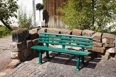 Un banc de jardin en résine, Leroy Merlin Ibiza, Outdoor Furniture, Outdoor Decor, Leroy Merlin, Home Decor, Medium, Products, Gardens, Terraces